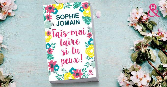 #MardiConseil Fais-moi taire si tu peux de #SophieJomain grâce à la chronique de @MarienelLit ! Un grand merci à @Sophiejomain pour cet excellent moment de lecture, merci pour les sourire, merci pour les émotions. 🌻 Photo