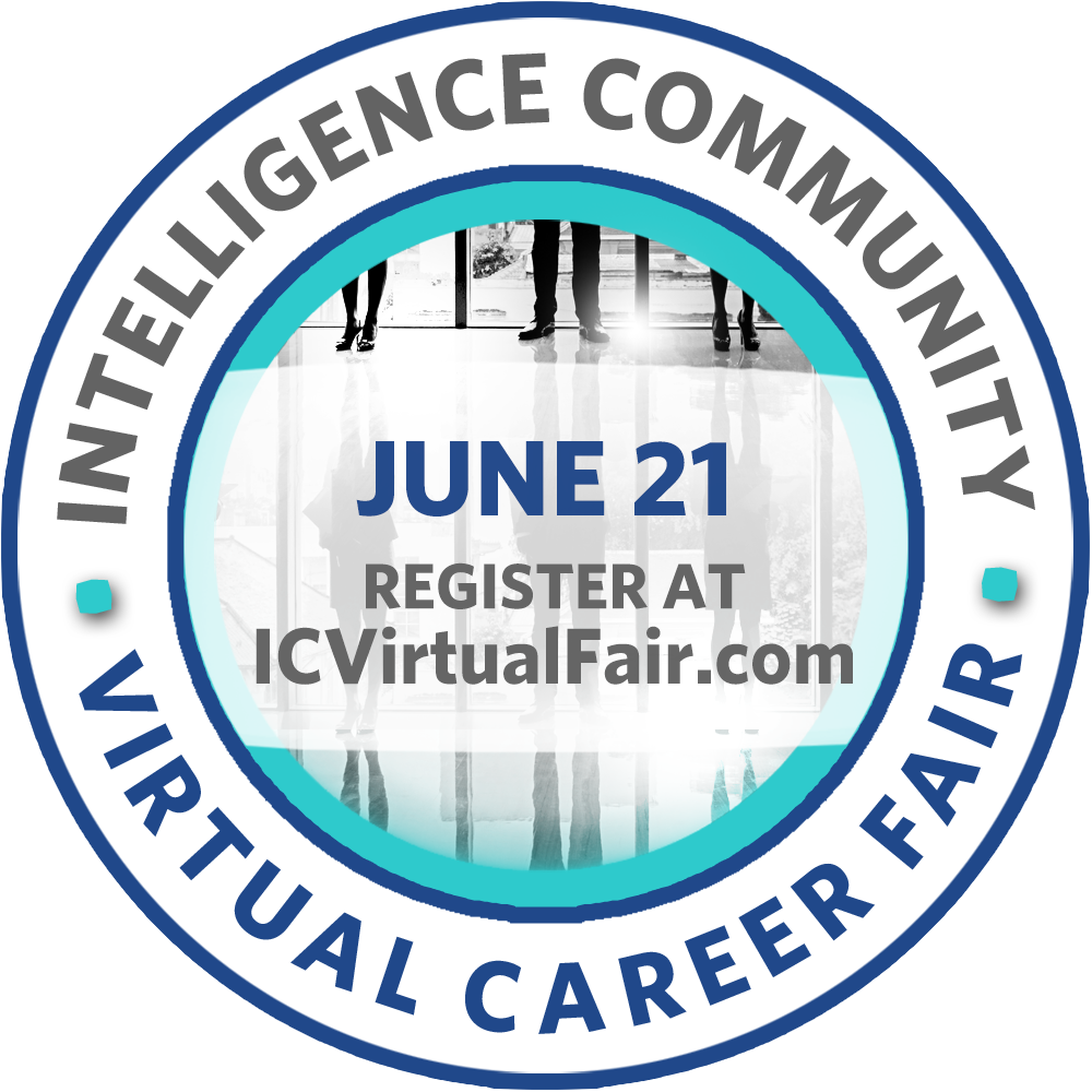 Have you ever wanted to attend a career fair but could never find time to go? On June 21, you can from the convenience of your own computer or mobile device. Register now for the 2018 Intelligence Community Virtual Career Fair: icvirtualfair.com
