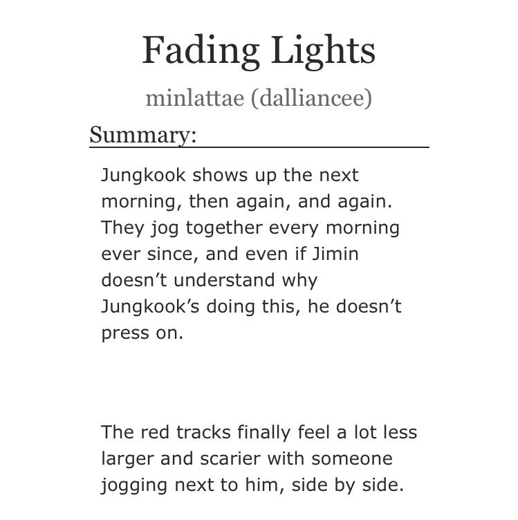 fading thesis ao3