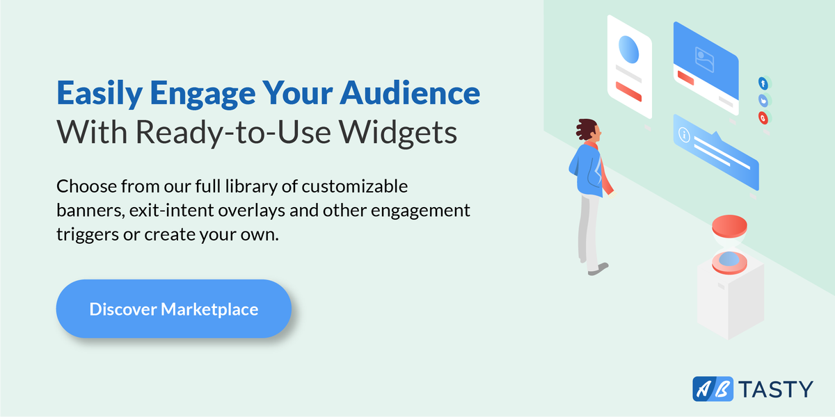 Check Out Marketplace A Widget Library Full Of Customizable Engagement Triggers Helping You Engage With Visitors And Convert Them Into Customers