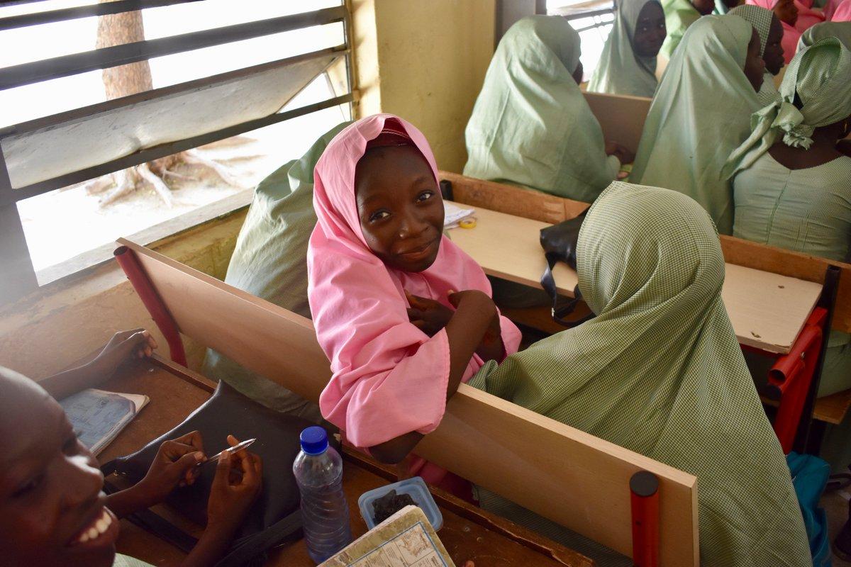 Avant 2020, le monde pourrait avoir 40 millions d'emplois vacants, mais pas assez de travailleurs formés pour les occuper. Aujourdhui, les leaders #G7 peuvent changer ça – en engageant 1,3 milliards de dollars pour l'éducation des filles.
