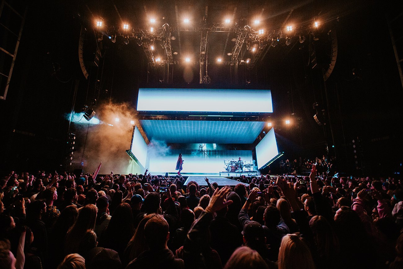 ���� Great North America kickoff in Toronto!! Tonight's all about you, MONTREAL - hope to see you soon.  #MonolithTour https://t.co/mPnWotD6Gj