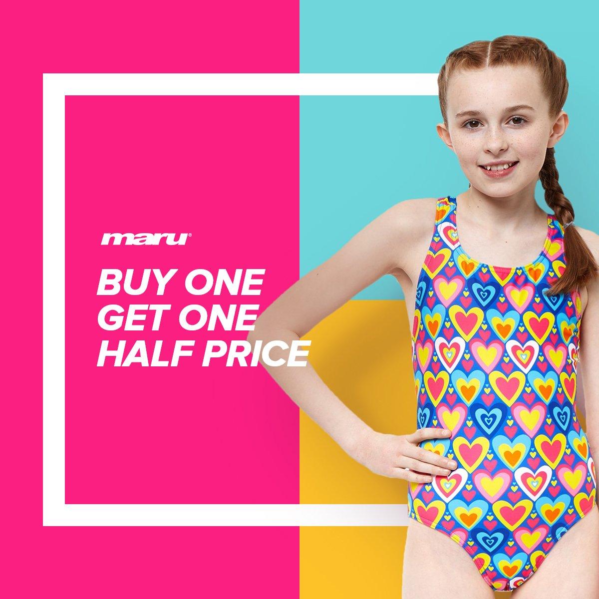 Maru Junior Swimming Costumes Maru TXT Pacer Auto Back.Girls Junior Swimwear