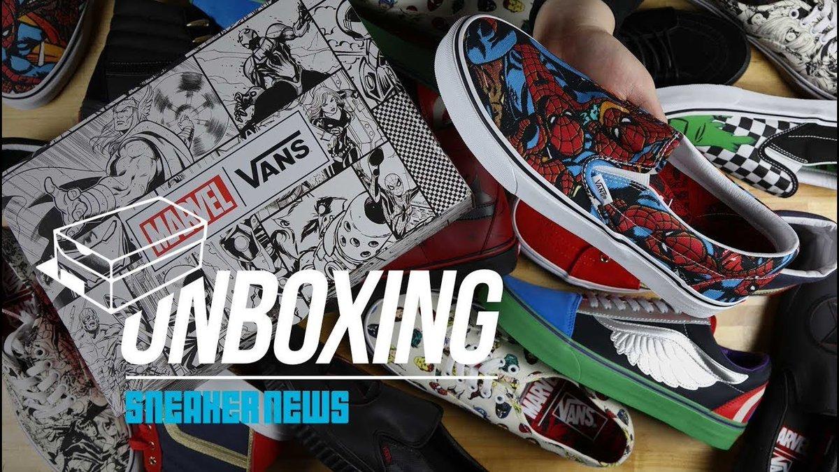 custom vans unboxing
