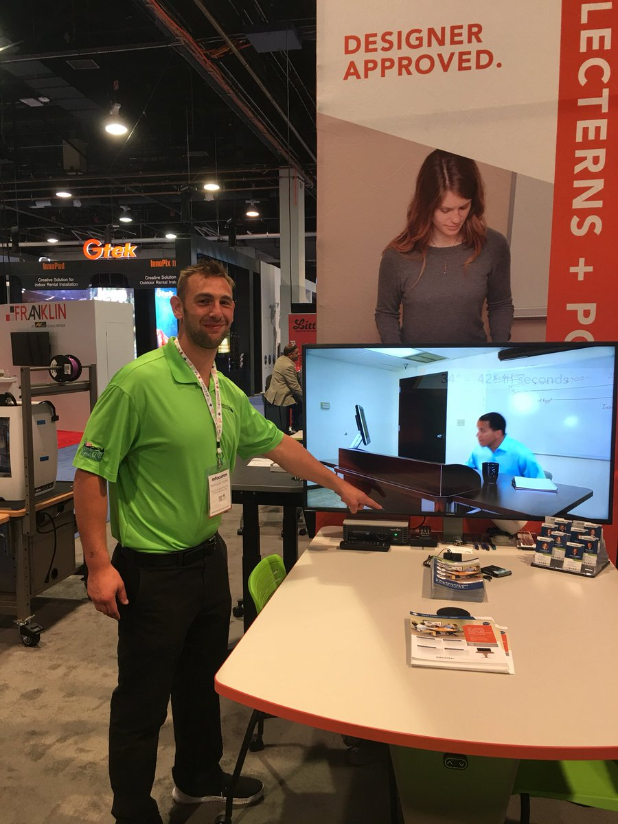 7803429af  InfoComm wouldn t have been as successful without your help and the Cynap!  Like our Flex Active Flip Tables you re  FlippinAwesome!
