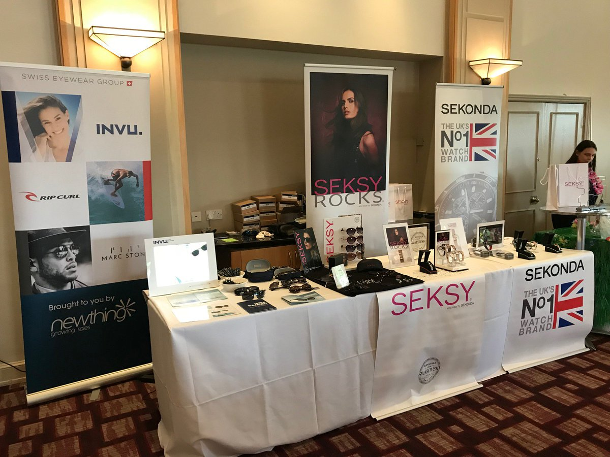 e8b1b9472ef Busy day at the TRC Product Showcase yesterday with both INVU and  Seksy  sunglasses!  INVU Eyewearpic.twitter.com nKrOLLC4C7