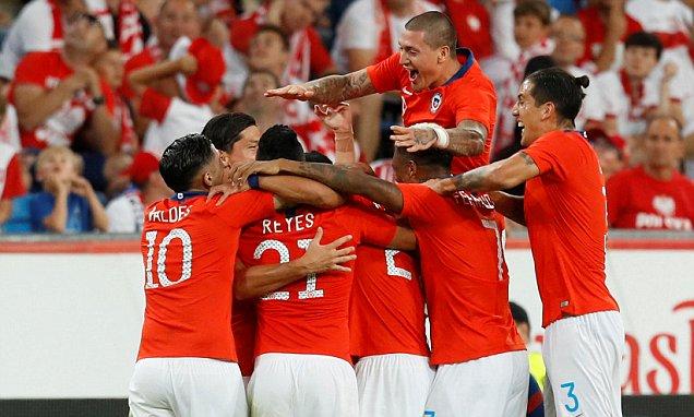 Video: Ba Lan vs Chile