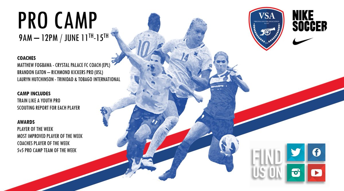 33de2faa5 Come be a part of the VSA Pro Camp starting MONDAY!  CampSZN  CampLife   WeAreVSA MORE INFO   REGISTER - http   vsaonline.org camps pro-camp pic. twitter.com  ...