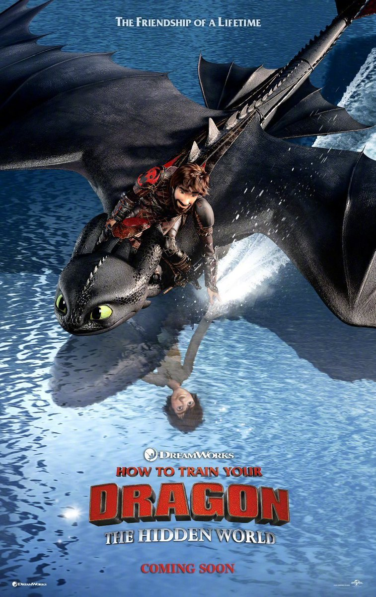 The friendship of a lifetime #HowToTrainYourDragon #NationalBestFriendsDay