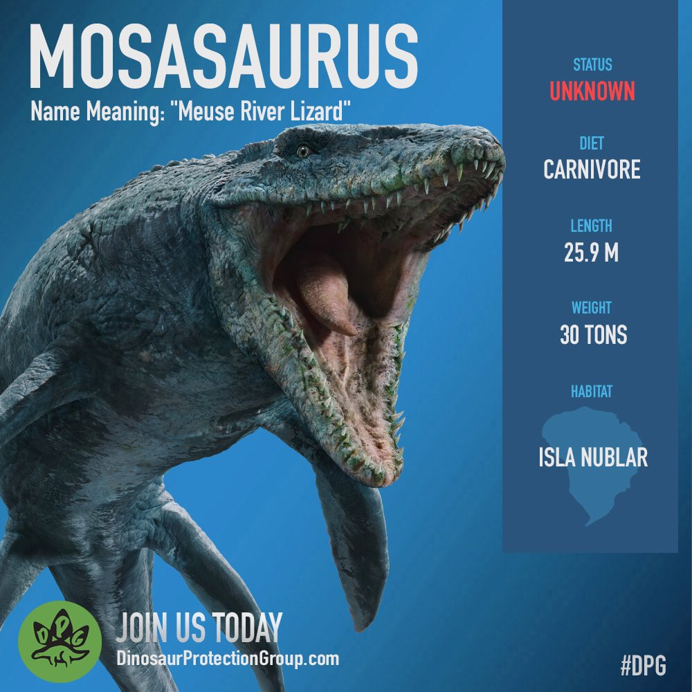 "Dinosaur Protection Group on Twitter: ""The status of Isla ..."