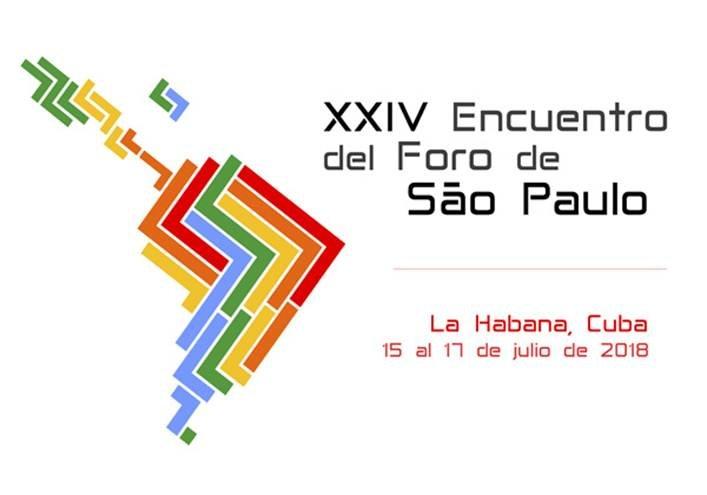 Resultado de imagen para El XXIV Encuentro del Foro de Sao Paulo
