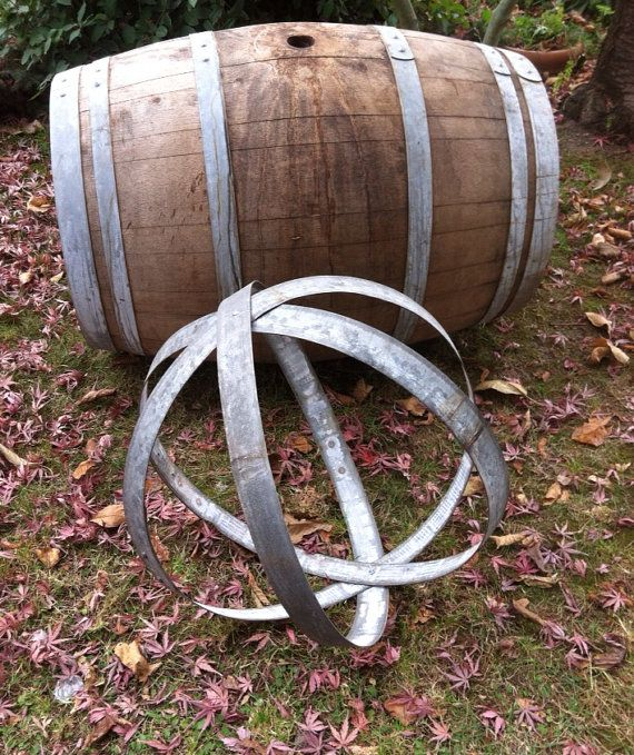 Daryle W Hier On Twitter Used Wine Barrel Hoop Bands Are Again