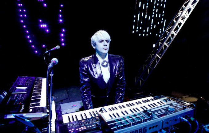 Happy Birthday to the one and only Nick Rhodes of