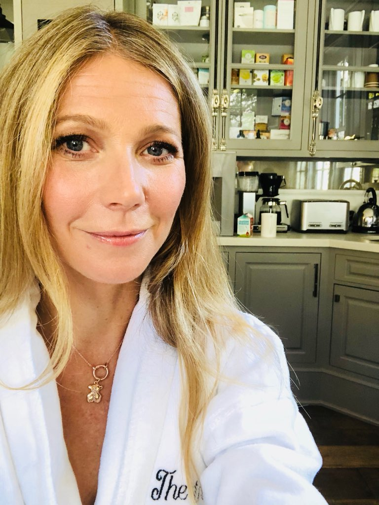 Gwyneth Paltrow On Twitter Getting Ready For Some Pre