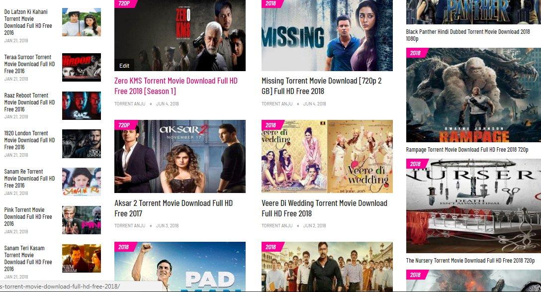 torrent hindi movies download 2018