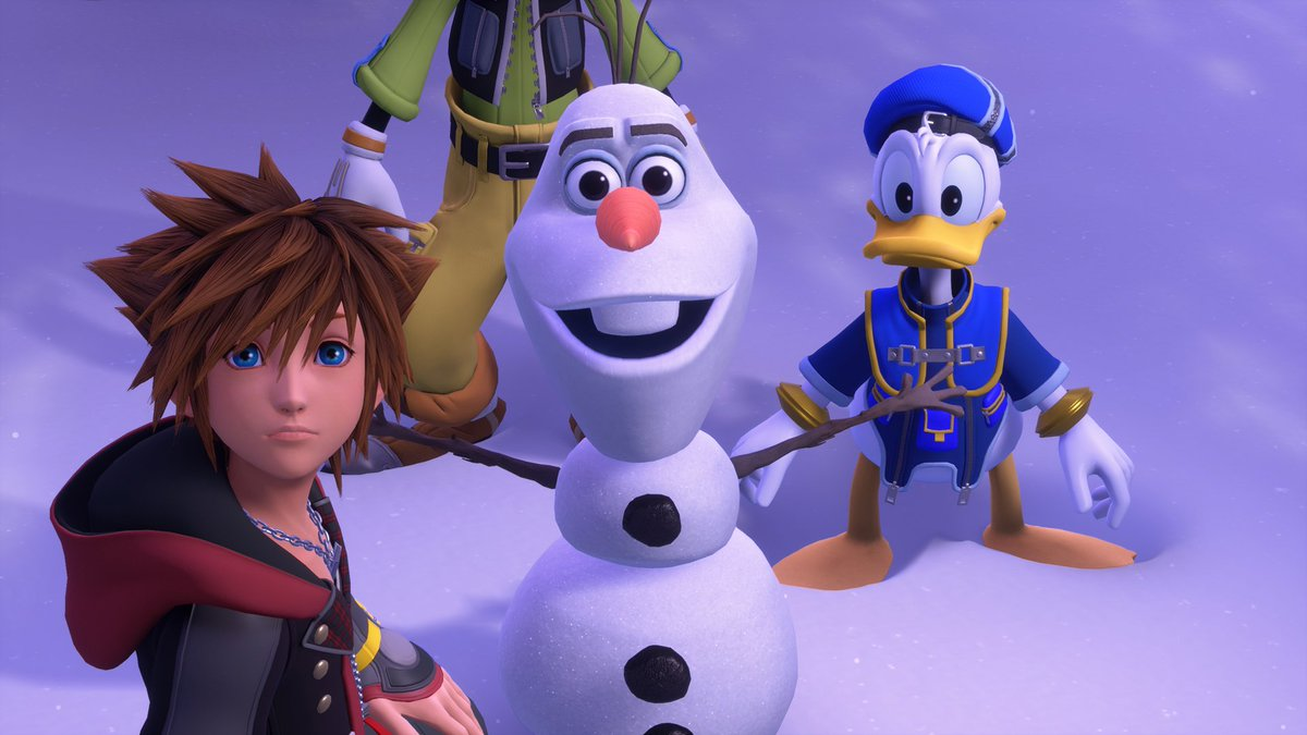 Originally aired at the Xbox E3 2018 Briefing, this trailer reveals the next destination on Sora, Donald, and Goofy's adventure: Frozen! #KH3