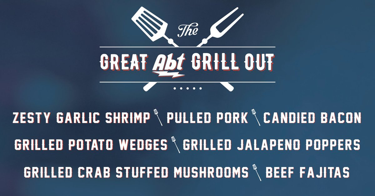 Abt Electronics On Twitter Here Are Some Of The Menu Items That - Abt weber grill