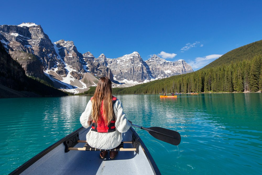 Moraine Lake Lodge On Twitter Canoe Believe It The Lake