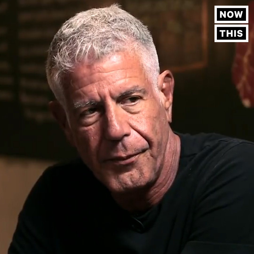 Anthony Bourdain wasn't just a feminist — he was a fierce supporter of women telling their stories