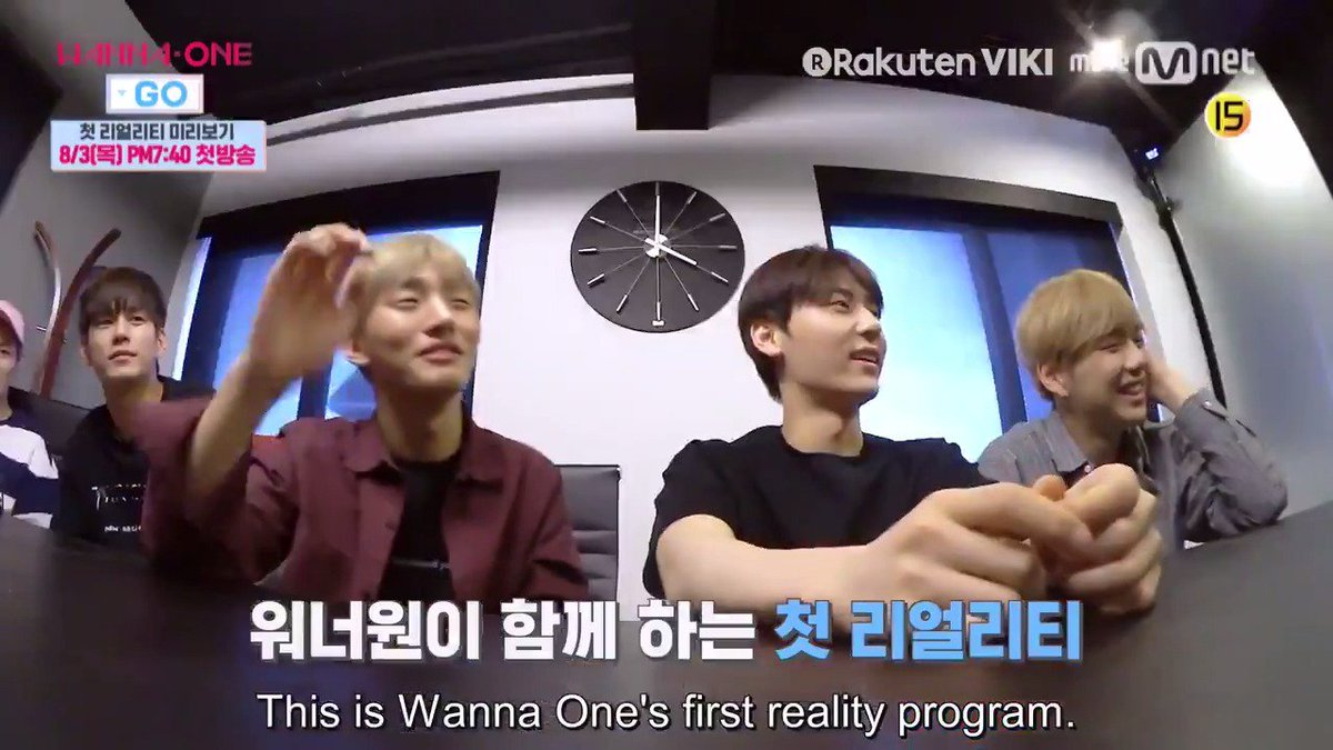 Do you love #WannaOne? Then #WannaOneGo is perfect for you! Dont miss it on Viki: bit.ly/WannaOneGoTW