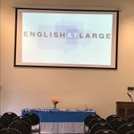 Image for the Tweet beginning: Starting now EAL learner graduation!