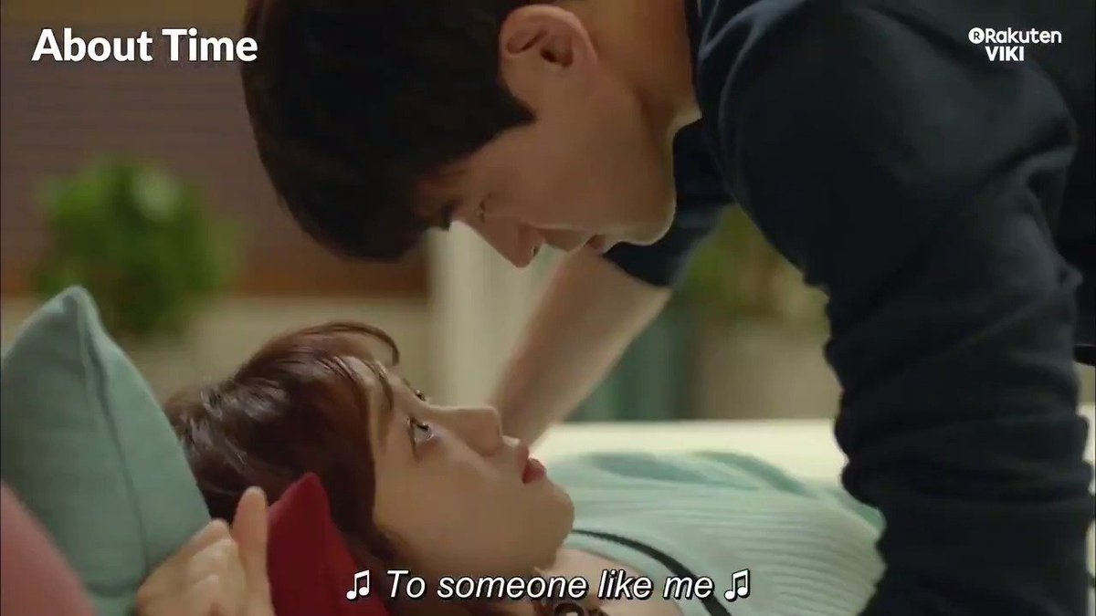 Oof! #LeeSangYoon tries to test #LeeSungKyung with a near kiss and our hearts nearly stopped! Watch #AboutTime on Viki: bit.ly/AboutTimeTW