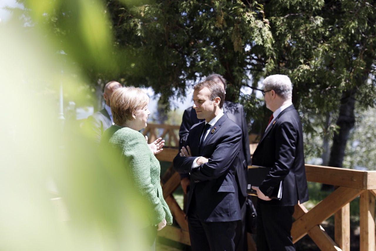 Les défis sont considérables et nous avons besoin de ce dialogue permanent. #G7Charlevoix https://t.co/fzpcSdfTbq
