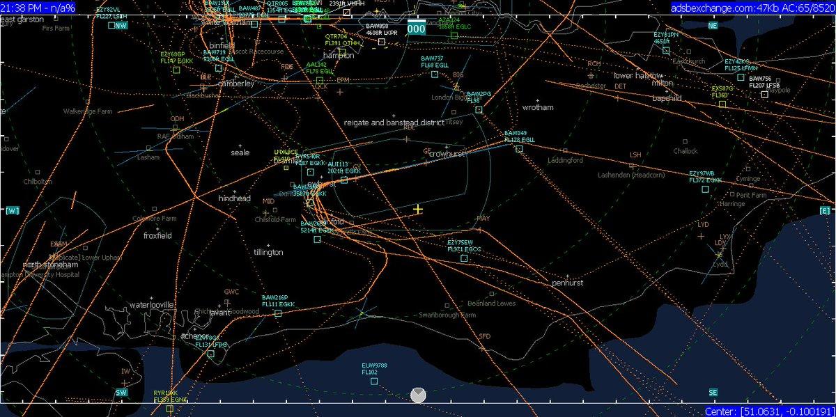 Flight history tracker