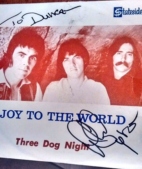 Wishing a happy birthday to the one and only Chuck Negron of 3 Dog Night