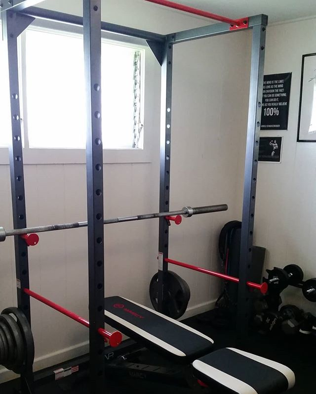 $280 for this Cap 7ft rack and I got $40 fitness reality plate holders for the bottom to hold weights . #powerrack #homegym #fitness #happy #hyped ... & powerrack hashtag on Twitter