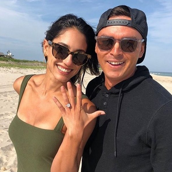 Sorry, ladies 😏 CONGRATULATIONS, @RickieFowler and @StokkeAllison! 💍👩‍❤️‍👨
