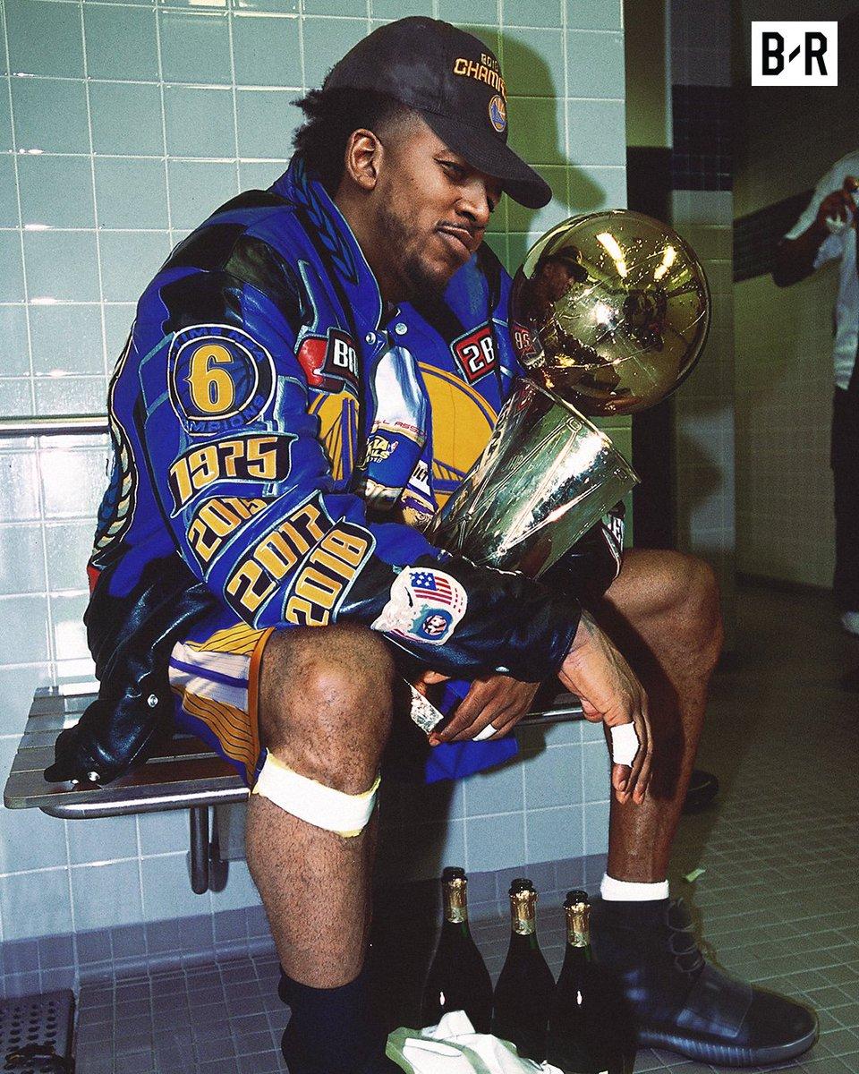 Swaggiest NBA champ ever 😂