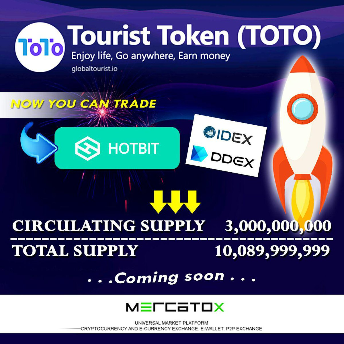 Tourist Token (TOTO) on Twitter: \