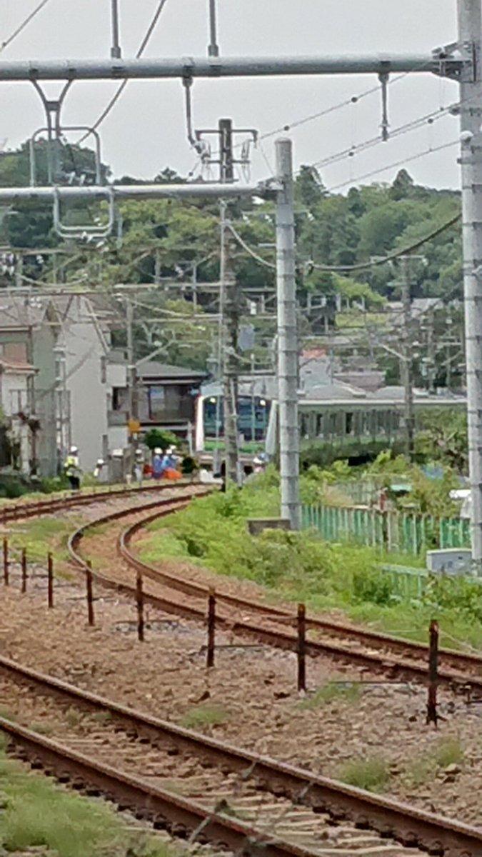横浜線の橋本駅~相原駅間で人身事故の現場画像