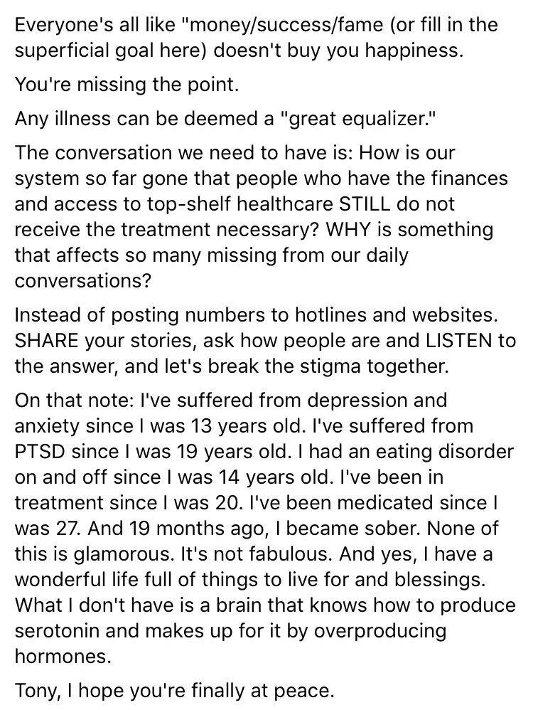 #MyStory #depression #anxiety #AnthonyBourdian #EndTheStigma #ProjectSemicolon