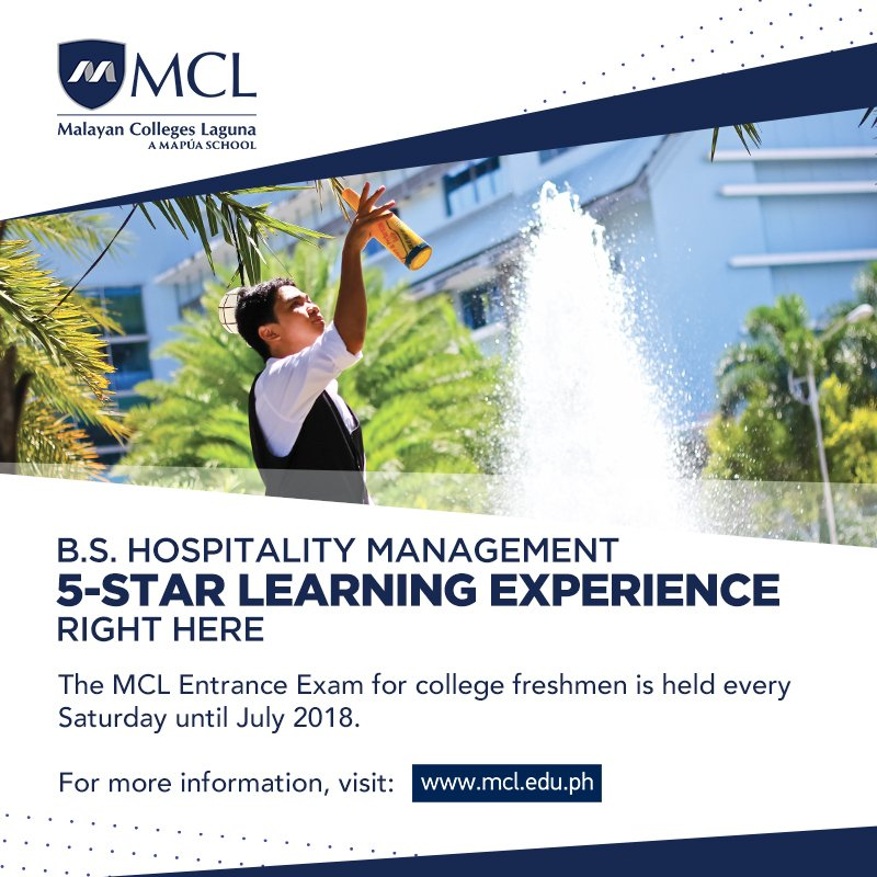 Malayan Colleges Laguna Mcl On Twitter Enrollment Is Now