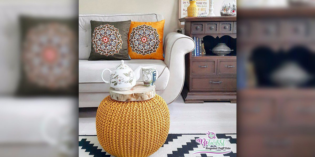 Retwisst On Twitter Decorate Your Home With A Knitted Pouf