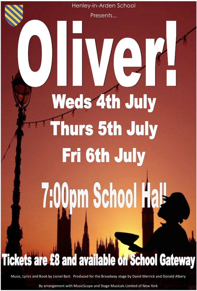 Henley School On Twitter Get Your Tickets Now For Our
