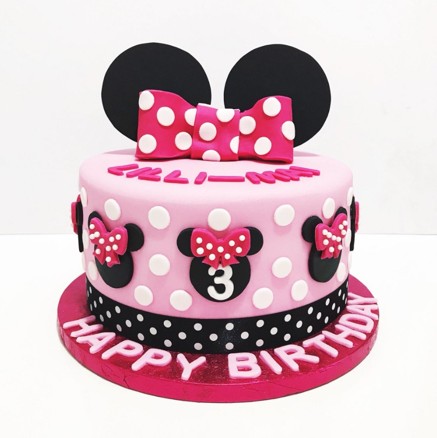 Remarkable Renshaw Baking Uk On Twitter This Minnie Mouse Birthday Cake Is Funny Birthday Cards Online Alyptdamsfinfo