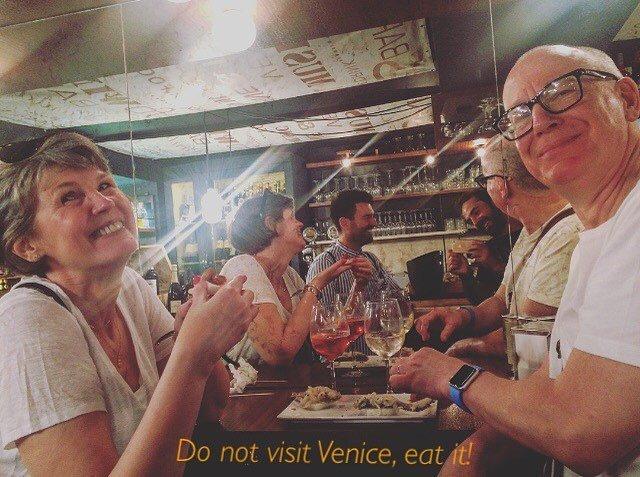 The #foodtour of Venice #streatyvenice #streatytours #streetfoodtour #eatvenice #venicefoodtour #venicefood #visitveneto #cicchettitour #cicchettiamo #spritztime #venicewalk #foodietribe #foodtrip #italianfoodstyle #italianstyle #venetianfood #cibo… https://ift.tt/2sU3FUupic.twitter.com/JKtAERAyrH
