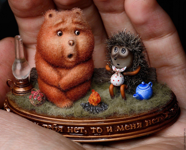 Картинки про, картинки с ежиком и медвежонком
