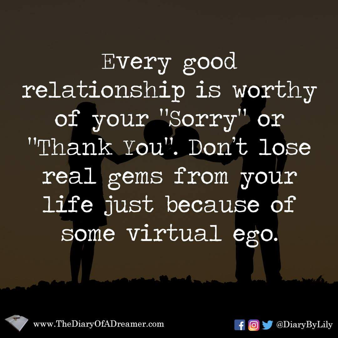 Lily Grover On Twitter Daily Quotes Ego Breaking Relationships