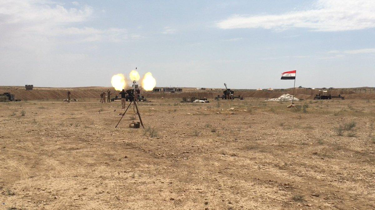 غارات جوية عراقية على داعش في سوريا DfPeZniUYAASP40