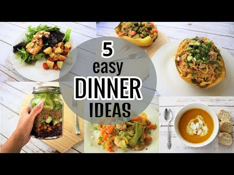 5 EASY HEALTHY DINNER IDEAS | Recipes For Beginners & Weight Loss - Cooking View - https://t.co/tD5qGA5eor https://t.co/vXe8j1iUtm