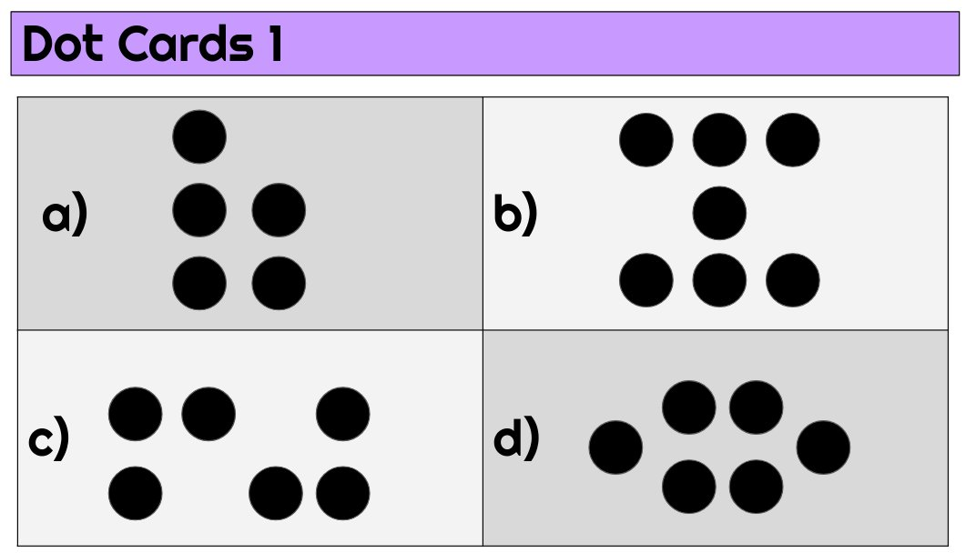 Daniel Kaufmann On Twitter I Included Some Dot Cards Number Talks