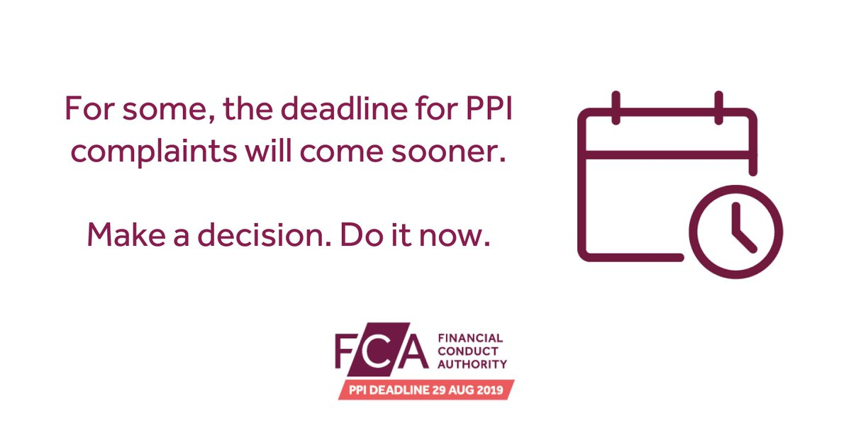 The fca ppi deadline ppifca twitter from the time it was sent to make a complaint which may fall sooner than the 29 august 2019 deadline httpsgoojydbk4 picitter7shzs2pof4 solutioingenieria Image collections