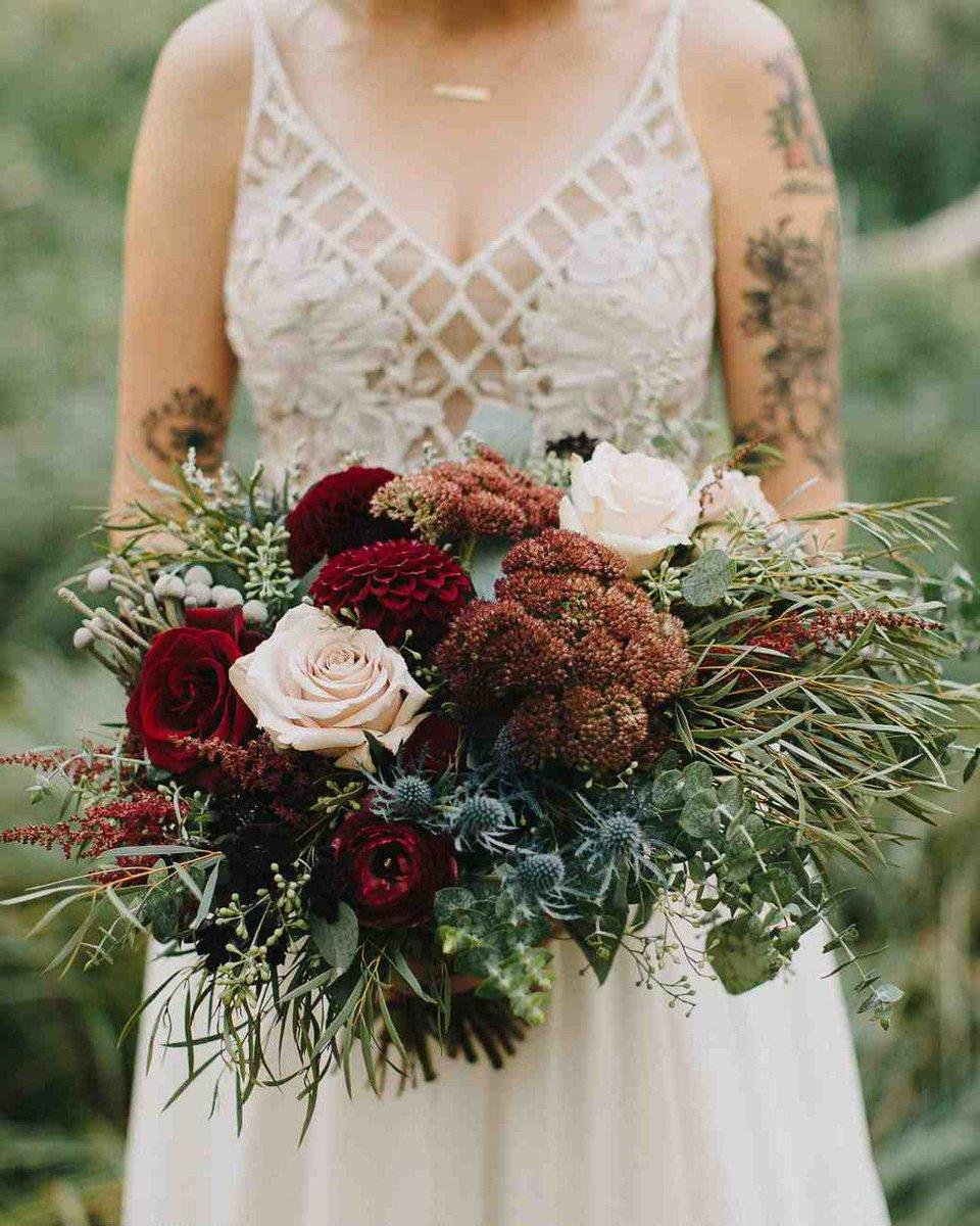 Martha Weddings On Twitter 52 Gorgeous Fall Wedding Bouquets Https T Co 7dw8sud3