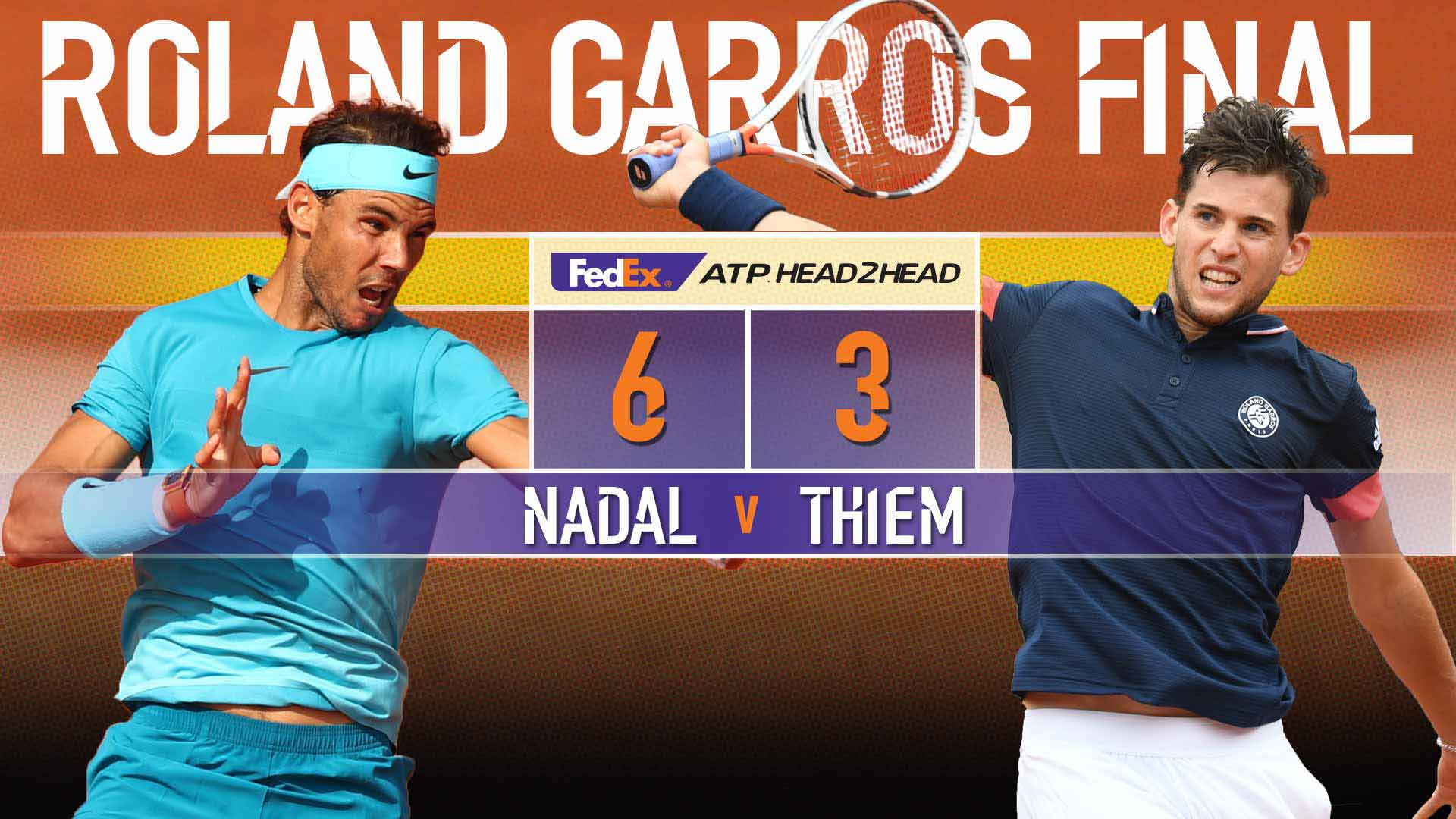 Can Thiem derail Rafa's quest for #RolandGarros �� No. 1️⃣1️⃣?  Read Preview ➡️ https://t.co/dHNkAw0cUS  #ATP #RG18 https://t.co/SVYlRFDqtk