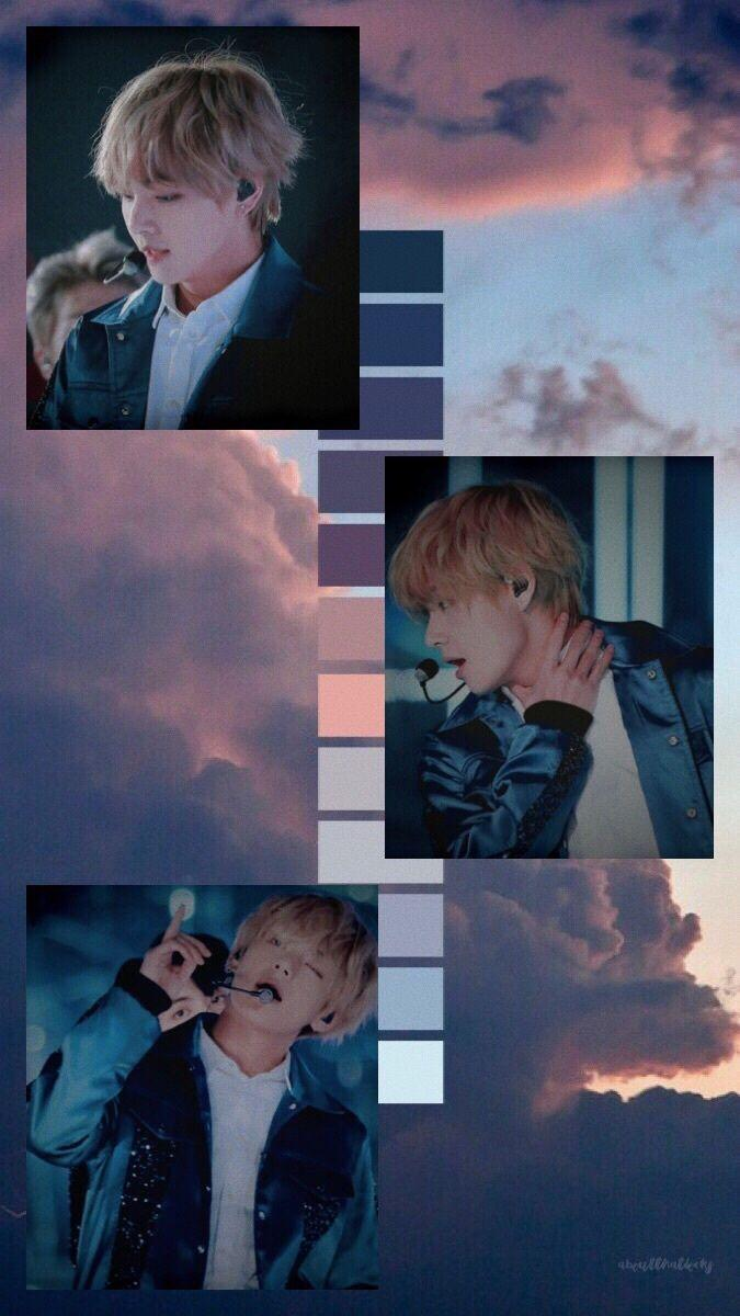 Ot7 ゚ On Twitter Bts V Wallpaper Wallpaper Bts