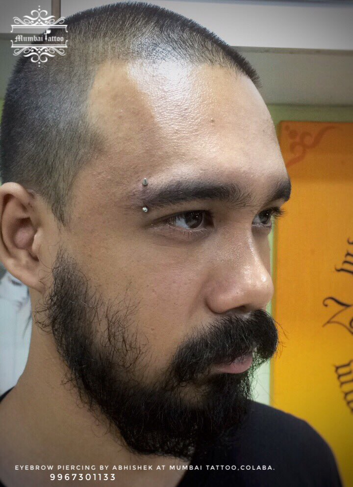 Mumbai Tattoo Colaba On Twitter Eyebrow Piercing Bigguystattoo
